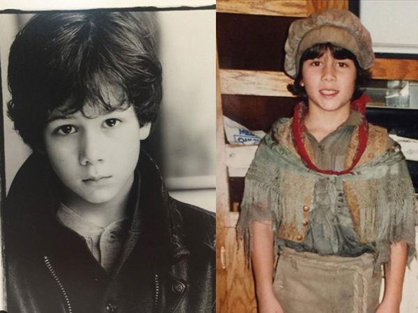 Nick Jonas Childhood Pictures