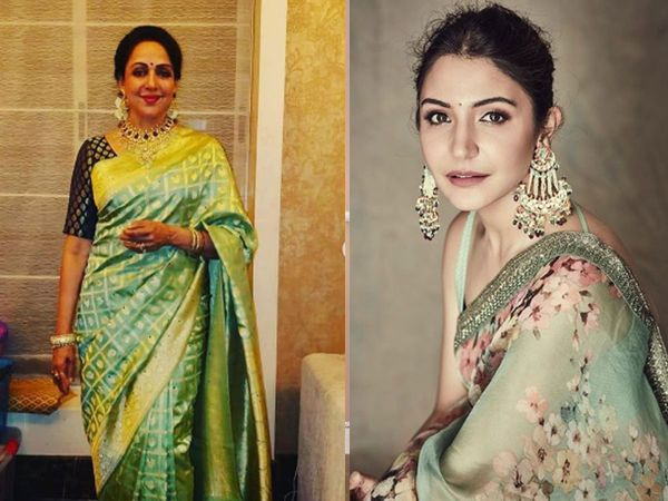Hema Malini and Anushka Sharma