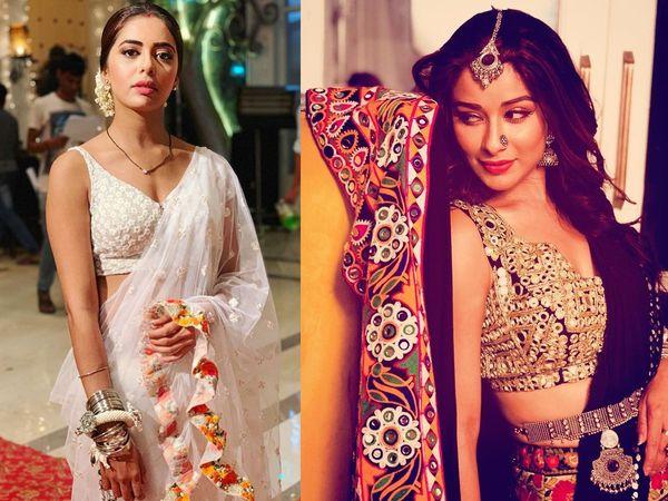 Sana Sayyad, Nyra Banerjee in Divya Drishti