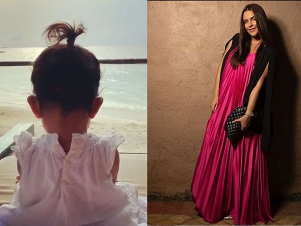 Neha dhupiya daughter