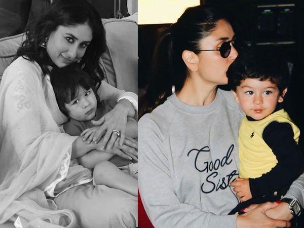 Kareena Kapoor Khan with Son Taimur Ali Khan