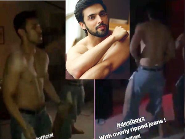 Parth Samthaan Kasautii Zindagii Kay 2 fame dance to Desi Boyz song watch video