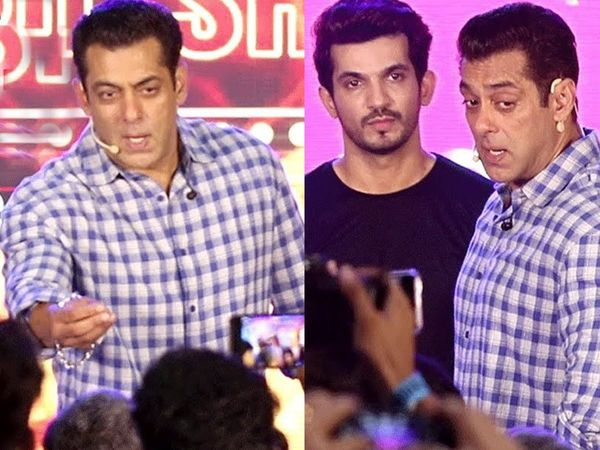 Salman khan gets angry on the photographer in Bigg boss 13 launch Video