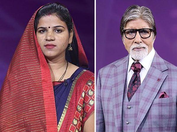 KBC 11 Prayagraj Contestant usha yadav Fun Episode With amitabh Bachchan in kaun banesh crorepati