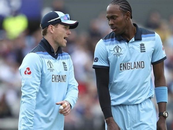 Eoin Morgan and Jofra Archer