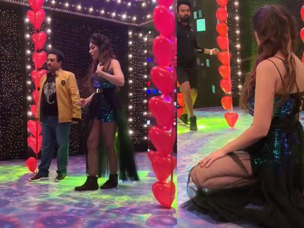 Munmun Dutta dilip joshi Sizzles dance in Taarak Mehta Ka Ooltah Chashmah watch video