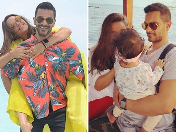 Neha dupia boss in the house Angad bedi reveals Daughter meher bedi First birthday celebration plan Exclusive
