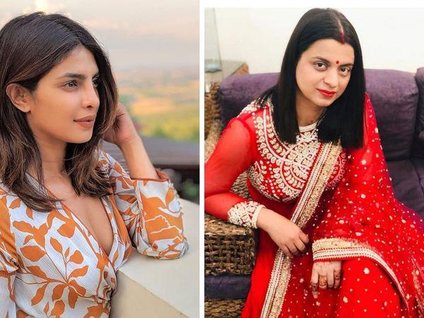 Priyanka chopra #howdareyou Supports Environmental Activist greta But kangana ranaut sister rangoli chandel Sister take a dig