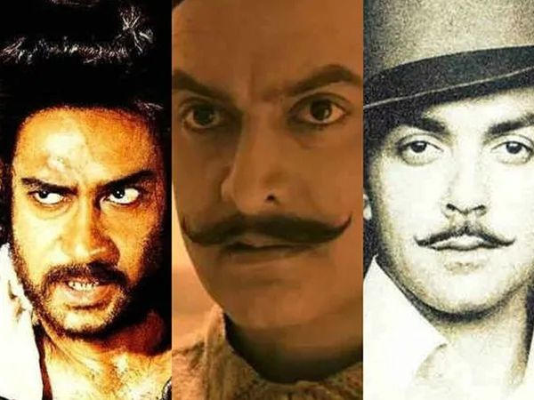 Actors in the role of Bhagat singh
