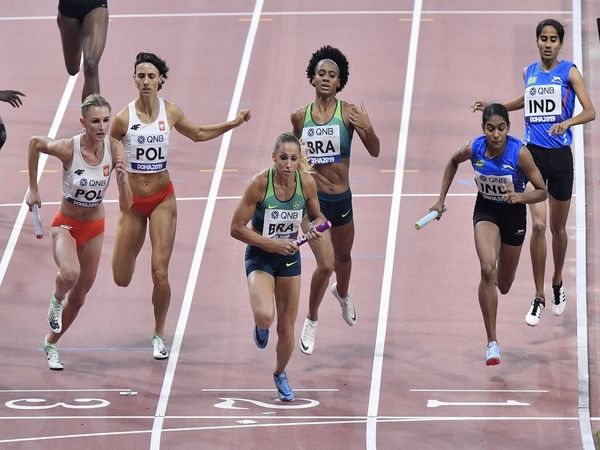 World Athletics Championships  4X400 mixed Relay
