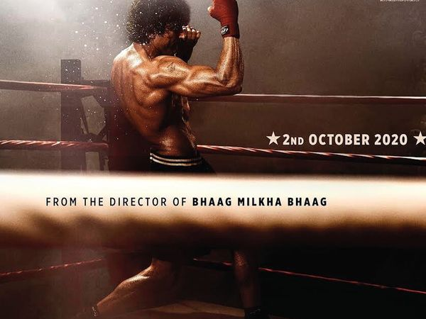 Farhan akhtar toofan boxer role first look