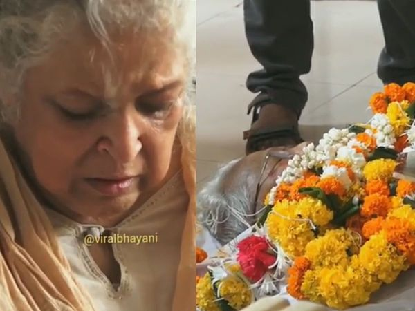 viju khote funeral Video Amitabh bachchan Dharmendra Not Reached in Sholay kalia last rites