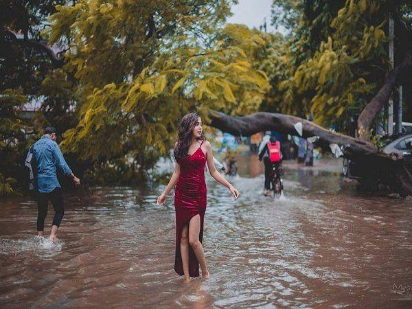 photoshoot in flood