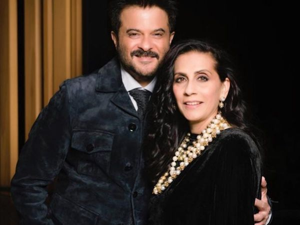Anil kapoor wish for wife sunita kapoor for Karwa karva Chauth 2019 watch his fitness video