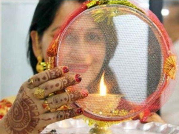 karva chauth chalni Story