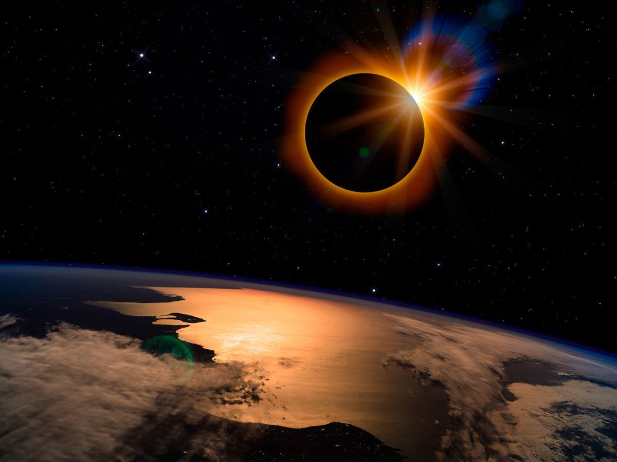 वलयाकार सूर्य ग्रहण किसे कहते हैं?